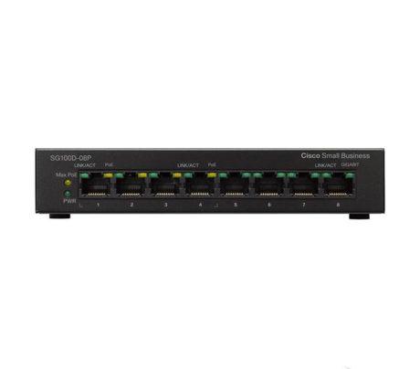 Cisco SMB SG100D-08P-EU | SG100D-08P-EU_2